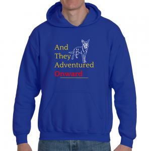 """ATAO """"And They Adventured Onward"""" Hoodie"""
