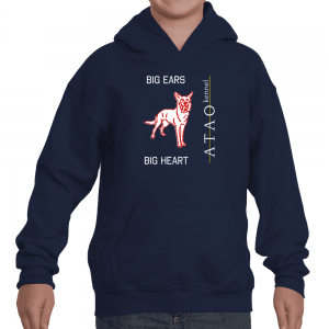 Youth Big Ears Big Heart Hoodie