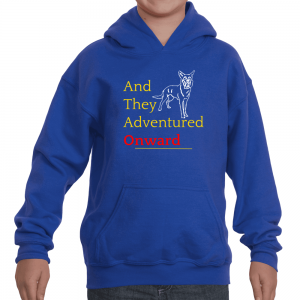"Youth ""And They Adventured Onward"" Hoodie"
