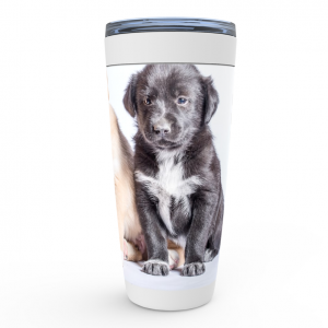 Sayings Puppy Tumbler