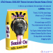 """Description: A large yellow dog food bag reading """"Big Mo's Senior Os, 185lb Super Size"""" with an image of Mo sits in a snowy landscape with the ATAO Logo in one corner, with the text: ATAO Kennel 2020-2021 Rookie Iditarod Season Kibble Drive. . In the run up to Iditarod, the race team will consume 4,000lbs of kibble. That's 21.62 Mo sized bags. Which is a LOT of Kibble (he's a big guy). Mo sized bags cost $235. The whole kennel will eat for a week in your honor. You'll get a limited edition Rookie Iditarod Season Big Mo's Senior Os bag sticker, and endless bragging rights."""