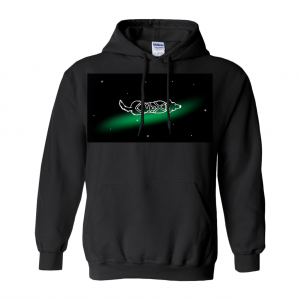 Capricorn Astrodoggy Hoodie (No-Zip/Pullover)