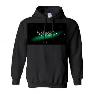 Sagittarius Astrodoggy Hoodie (No-Zip/Pullover)