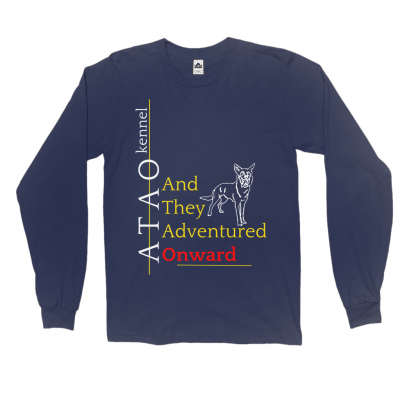 And They Adventured Onward Long Sleeve T-Shirt