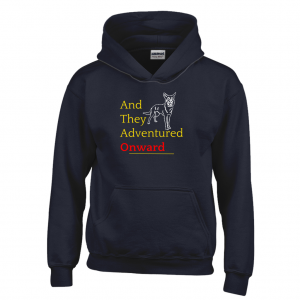And They Adventured Onward Hoodie (Youth Sizes)