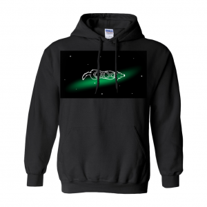 Gemini Astrodoggy Hoodie (No-Zip/Pullover)