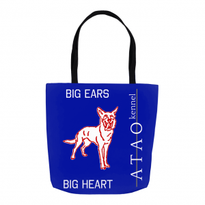 Big Ears Big Heart Tote Bag