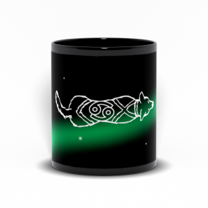 Cancer Astrodoggy Mug