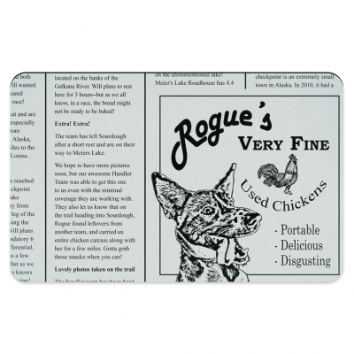 Rogue's Chicken Pet Placemats