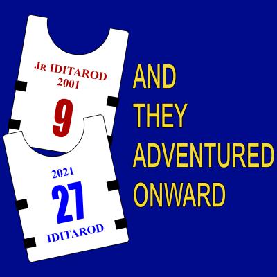 Atao 20 Years Iditarod Bibs Adult T-Shirt