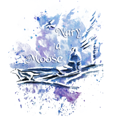 Nary A Moose Adult T-Shirt