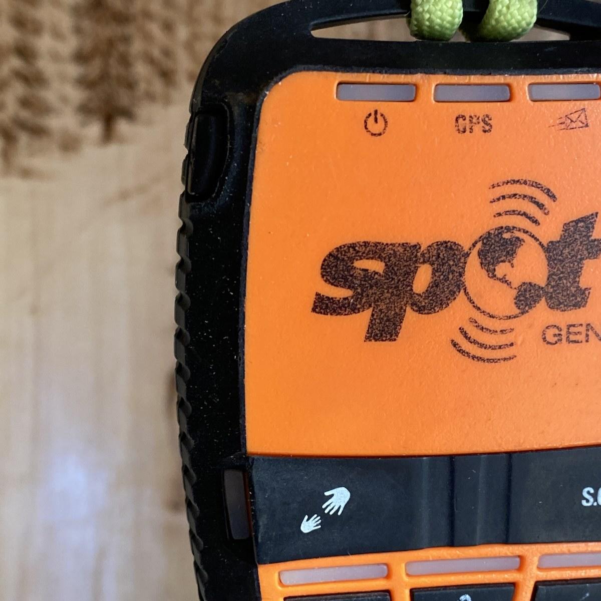 A spot GPS unit